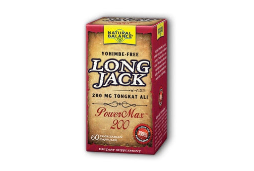 Natural Balance Long Jack PowerMax 200, 60 VegCaps.