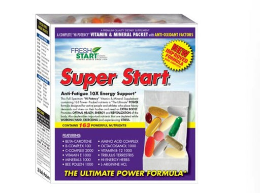 Fresh Start Super Start Daily Vitamin Packets (30 Packets)
