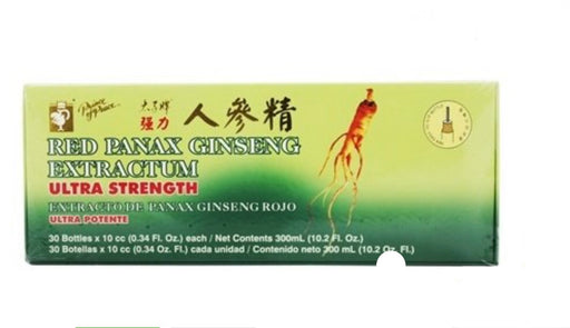 Red Panax Ginseng Extractum Ultra Strength 400 mg. - 30 Vial(s)