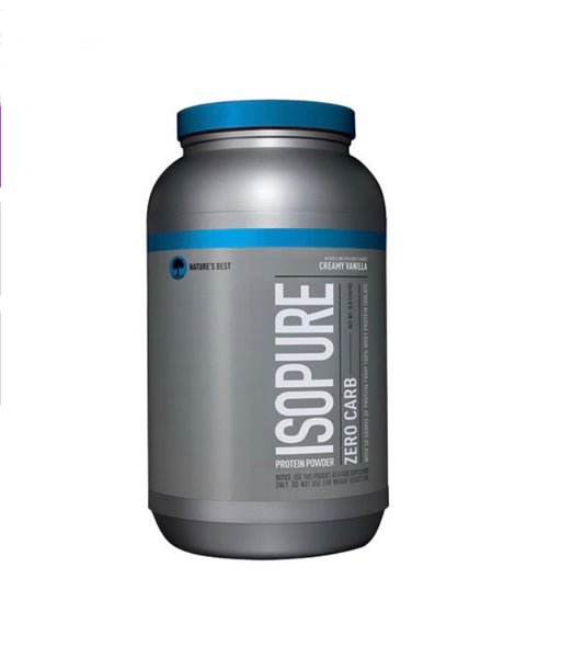 Isopure Nature's Best Zero Carb Protein Powder, 3 Lb (1.36 KG)