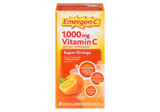 Emergen-C Vitamin C Powder, (Multiple Flavor), 0.32 Oz, 30 Ct