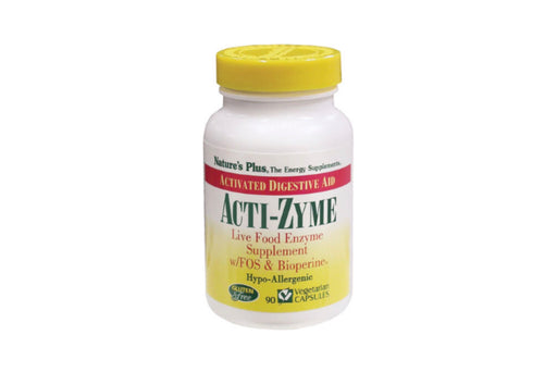 Nature's Plus Acti-Zyme 90 Vegetarian Capsules