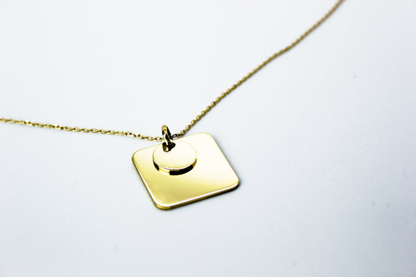 Collar Square Gold de VIKOSKA
