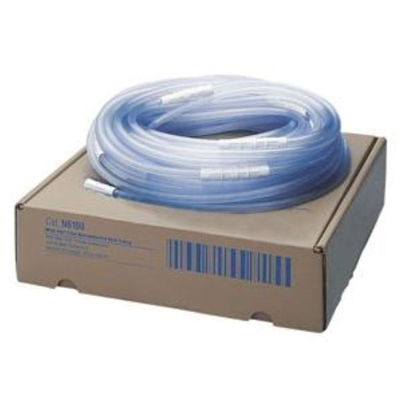 Medi-Vac Sterile Tubing with Maxi-grip Connectors, 5 mm x 10'