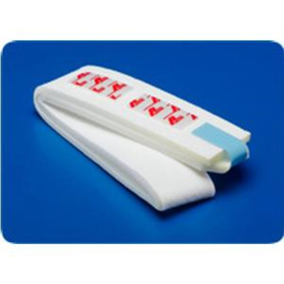 Dover Foam Catheter Strap with Velcro Closure