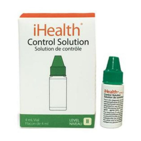 Control Solution for iHealth Glucose Meter