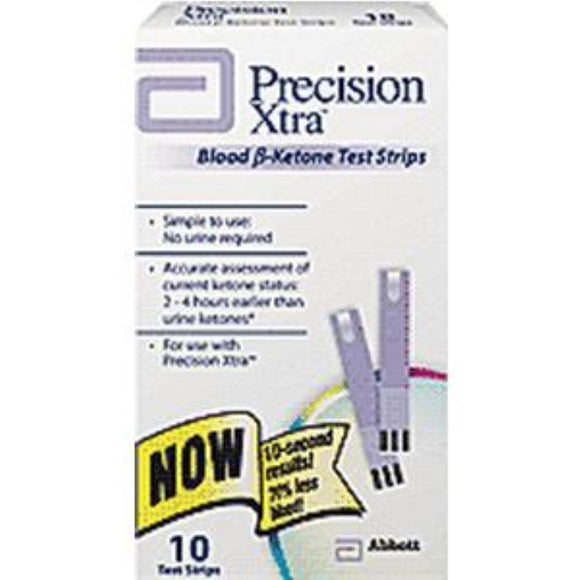 Precision Xtra End/Top Fill Blood Ketone Strip