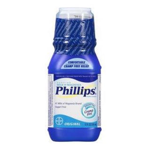 Phillips Original Milk of Magnesia Liquid, 12 oz