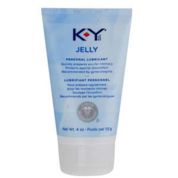 K-Y Personal Lubricated Jelly, 4 oz.