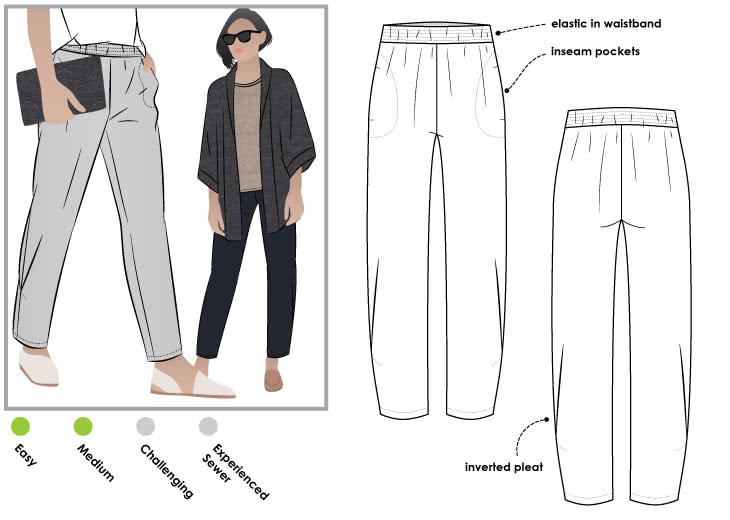 Style Arc Besharl Pant - sizes 4 to 16