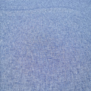Linen Cotton Blend, Chambray - 1/4 metre