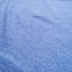 100% Boiled Wool, Cornflower - 1/4 metre