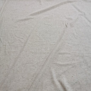 Viscose Linen Knit, Seeded Wheat - 1/4 metre