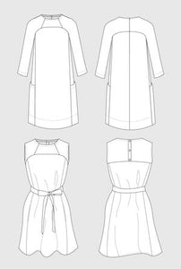 In The Folds Patterns - The Rushcutter Dress