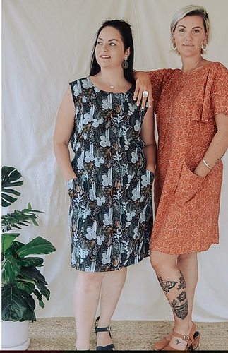 Sew To Grow Patterns - The Frankie Shift and Top