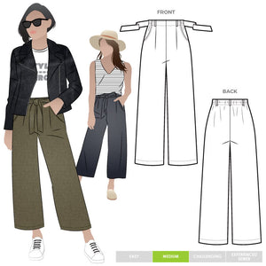 Style Arc Patterns Clare Pants - sizes 18 to 30