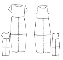 Load image into Gallery viewer, Tessuti Patterns Eva Dress