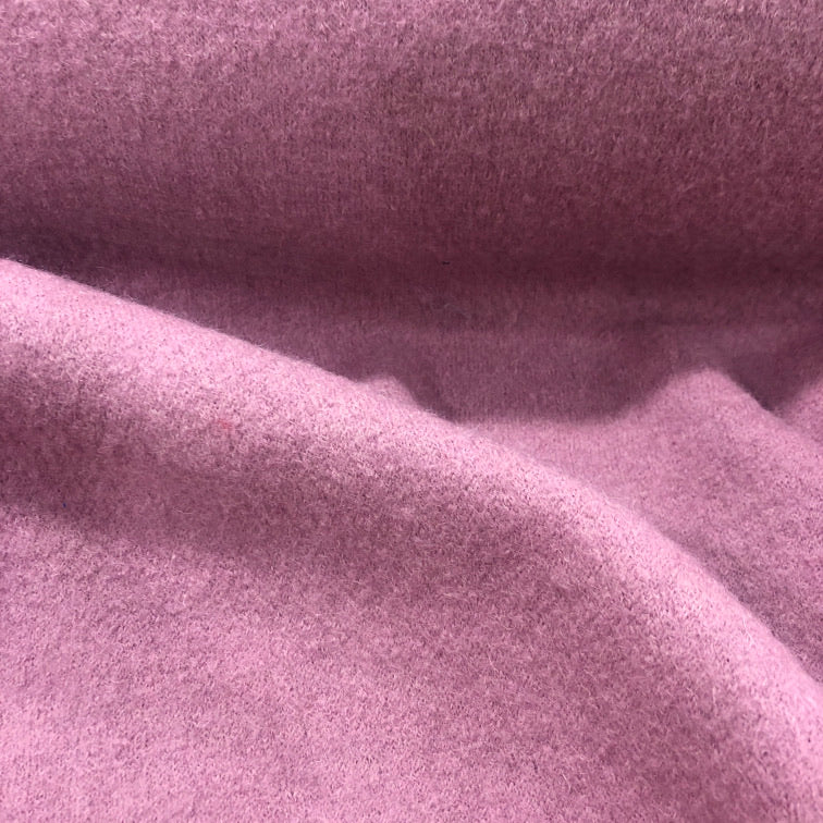 100% Boiled Wool in Musk Pink - 1/4 metre - buy fabric online australia