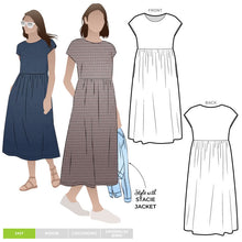 Load image into Gallery viewer, Style Arc Montana Midi Dress - Sizes 10 to 22