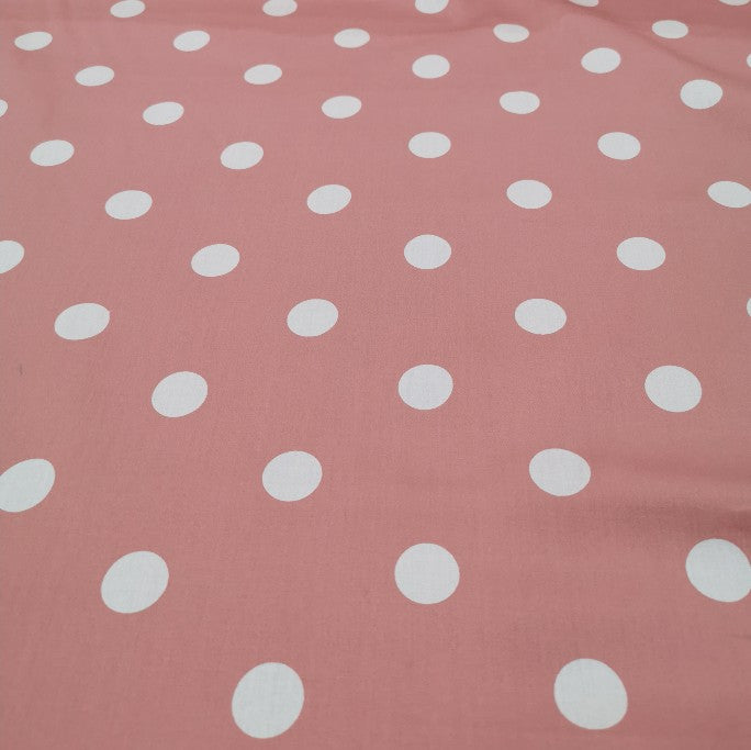 Peacock Cotton, Blush - 1/4 metre
