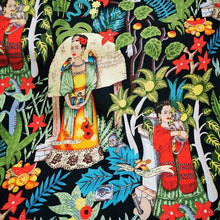Load image into Gallery viewer, Cotton with 4% Spandex, Frida Khalo Print- 1/4 metre