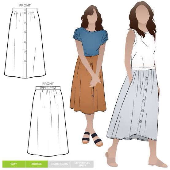 Style Arc Bonnie Woven Skirt - sizes 4 to 16