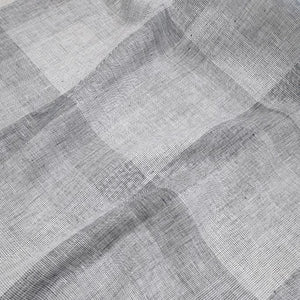 100% Linen, Bluemoon Check - 1/4metre
