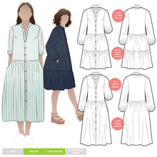 Load image into Gallery viewer, Style Arc Emerson Woven Dress - Sizes 10 to 22