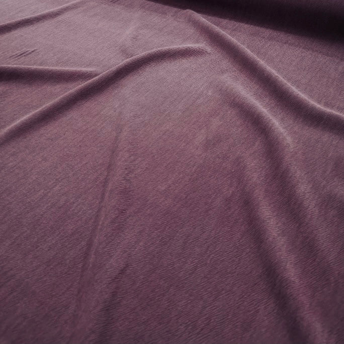 Tencel Rayon Blend, Mulberry Broken Twill - 1/4metre