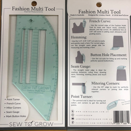 Sew to Grow Fashion Multi Tool