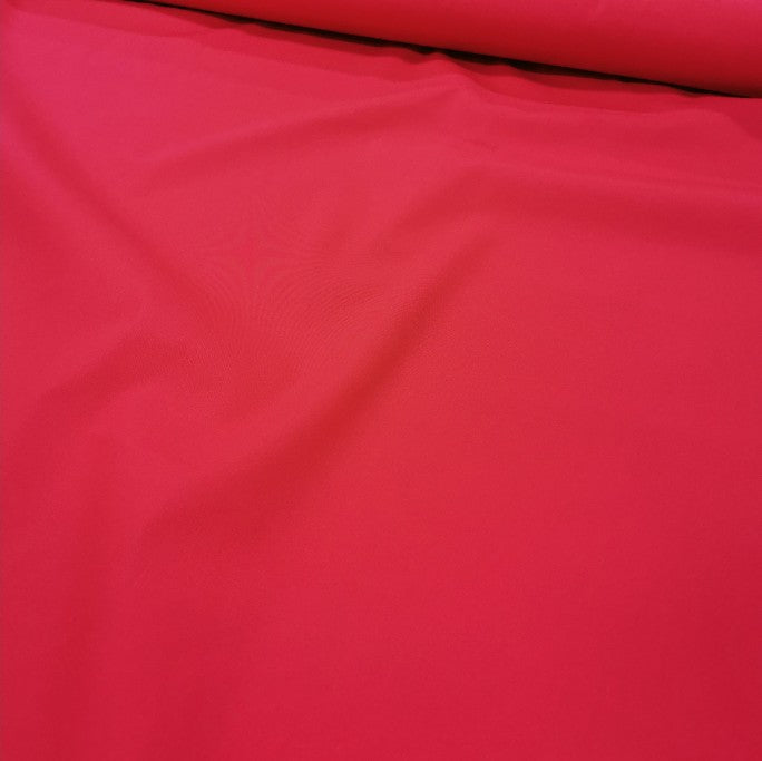100% Cotton Broadcloth, Red - 1/4 metre