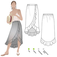 Load image into Gallery viewer, Style Arc Ariel Wrap Skirt - sizes 4 to 16
