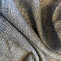 100% Linen, Nayy Yarn Dyed - 1/4 metre