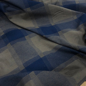 100% Cotton, Military Check - 1/4metre