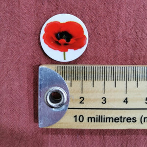Poppy Button - Large