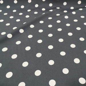 Peacock Cotton, Black - 1/4 metre