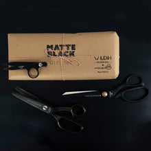 "Load image into Gallery viewer, LDH Scissors, 9.5"" Matt Black Gift Set"