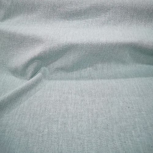 100% Linen Antique Wash, Duck Egg Blue - 1/4metre
