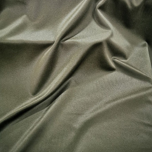 100% Wool, Cashmere Look in Khaki  - 1/4 metre