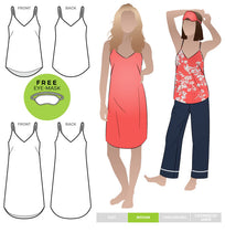 Load image into Gallery viewer, Style Arc Loungewear Camisole or Nightie - sizes 4 to 16