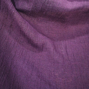 100% High Twist Linen, Aubergine - 1/4metre