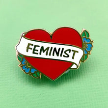 Load image into Gallery viewer, Jubly Umph Enamel Pin, Feminist