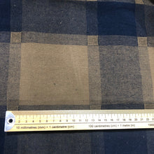 Load image into Gallery viewer, 100% Cotton, Military Check - 1/4metre