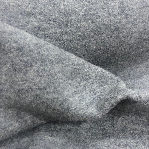100% Boiled Wool in Grey Marle - 1/4 metre