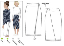 Load image into Gallery viewer, Style Arc Taylor Knit Skirt - sizes 4 to 16