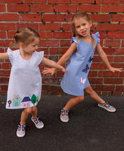 Load image into Gallery viewer, Style Arc Andie Kids Dress - Sizes 1 to 8