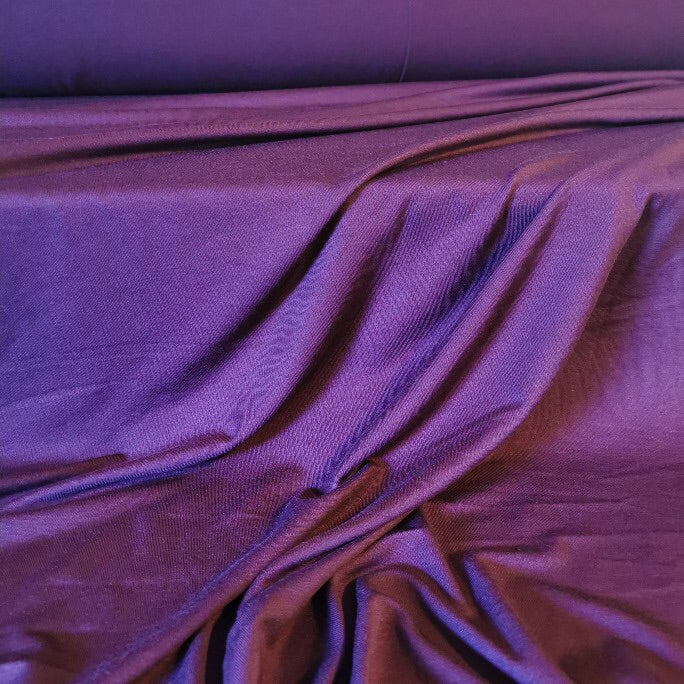 Bamboo Viscose Jersey in wine. 200gsm and 150cm wide.