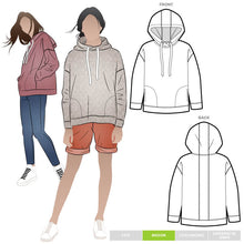 Load image into Gallery viewer, Style Arc Fitzroy Hoodie - sizes 4 to 16