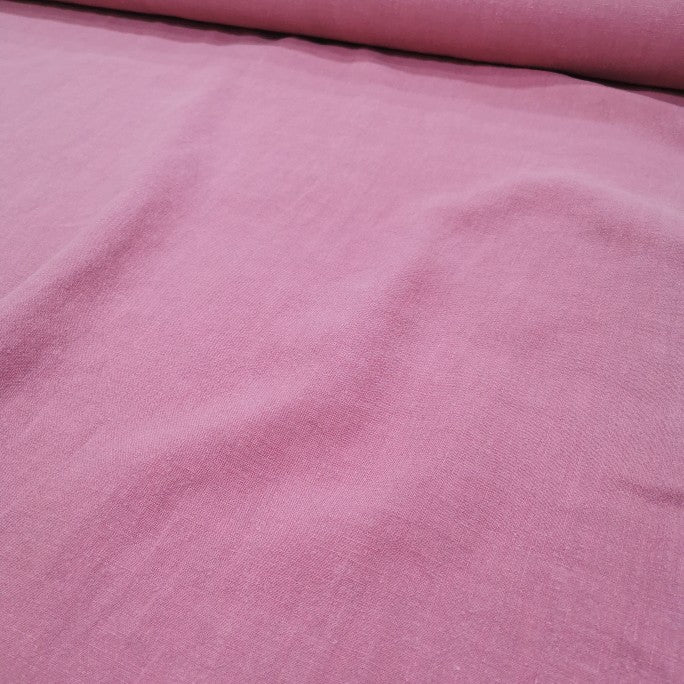 100% Linen Antique Wash, Musk - 1/4metre