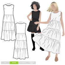 Load image into Gallery viewer, Style Arc Nova Midi Dress - Sizes 4 to 16
